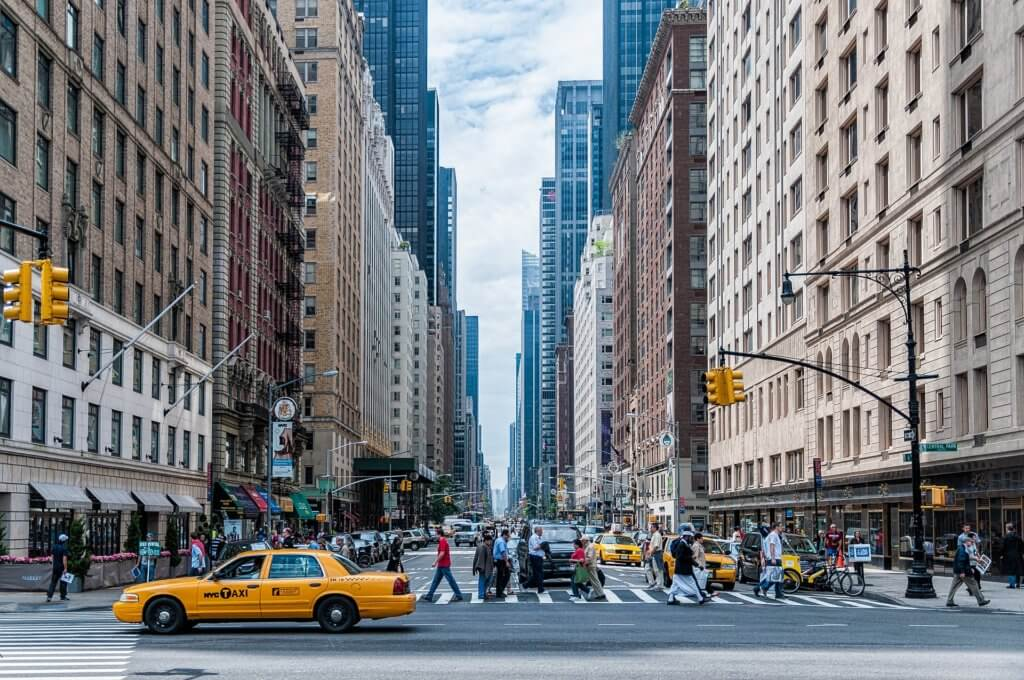 USA Bucket List for families featured by top US family travel blog, Travel With a Plan:t: skyscrapers in New York City