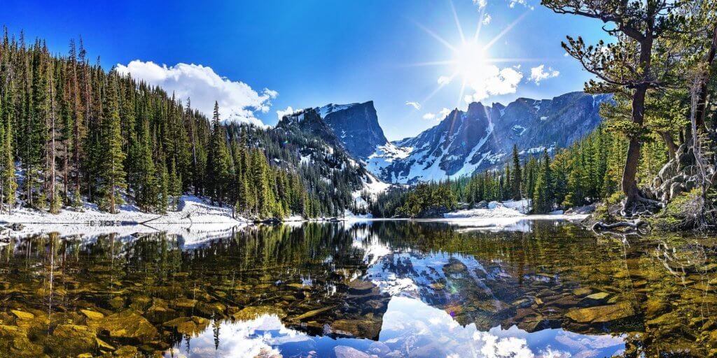 A family vacation bucket list featured by top US family travel blog, Travel With a Plan: Colorado rocky mountains