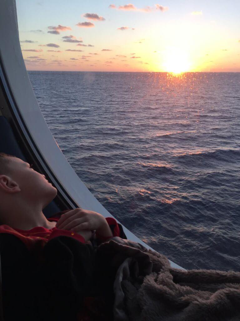 Top U.S. Travel Blog features Disney Cruise Advice:  Disney Cruise-stateroom window