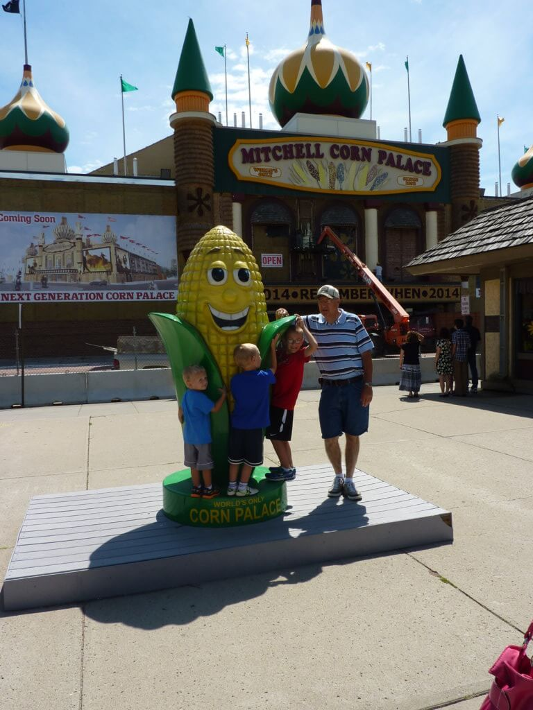 The Best Things to Do in the Black Hills with your Family featured by top US family travel blog, Travel with a Plan: image of Corn Palace