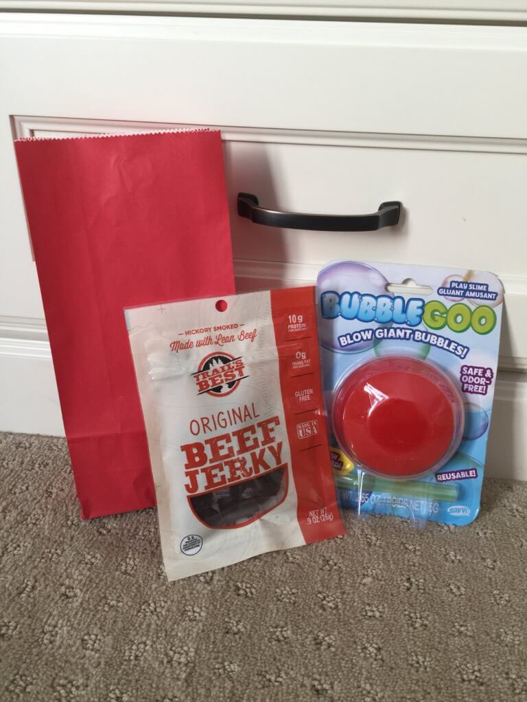 Road Trip activities featured by top US family travel blog, Travel with a Plan: Blow bubble road trip activity bag