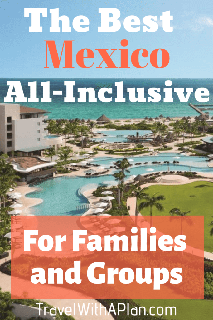 Top U.S. family travel blog Travel With A Plan shares their top-notch Dreams Playa Mujeres review!  Get all of the details of this family-friendly all-inclusive Mexico resort!  #DreamsPlayaMujeresreview #DreamsPlayaMujeresreviews #DreamsPlayaMujeresbeach #DreamsPlayaMujeresfood #DreamsPlayaMujeresGolf&SpaResort #DreamsPlayaMujeres #familytravel #Mexico
