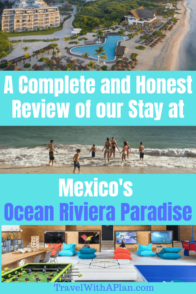 Get our detailed review of Playa Del Carmen's newest family-friendly, all-inclusive Mexico resort!  Ocean Riviera Paradise is jam packed with things to do for families and is one of the best family vacation spots!  Read all about what to expect as your take your family vacation to the shores of Ocean Riviera Paradise!  #oceanrivieraparadisereviews #oceanrivieraparadise #oceanrivieraparadiseexcursions #oceanrivieraparadisereview #playadelcarmen #Mexicoallinclusives #familytravel