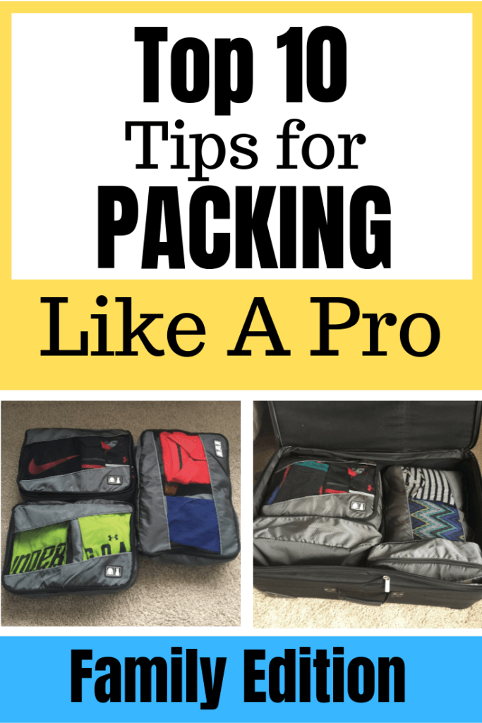 Family Vacation Packing Tips featured by top US family travel blog, Travel With a Plan