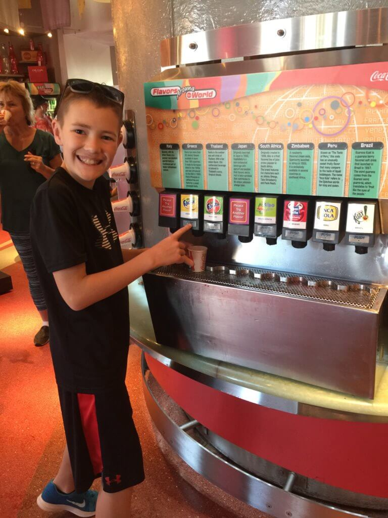 Disney World on a Budget:  15 Genius Ways on How to Save Money at Disney World, tips featured by top US family travel blog, Travel With a Plan: Disney World on a budget, free soda