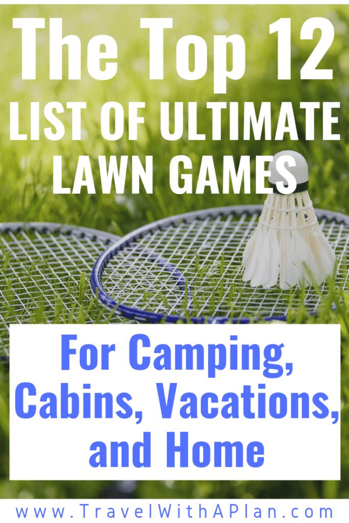 best portable lawn games