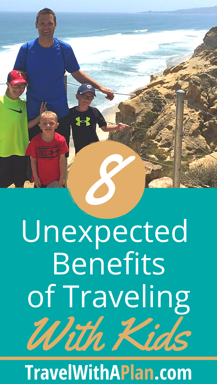 Discover the amazing benefits of family travel from top U.S. family travel blog, Travel With A Plan!