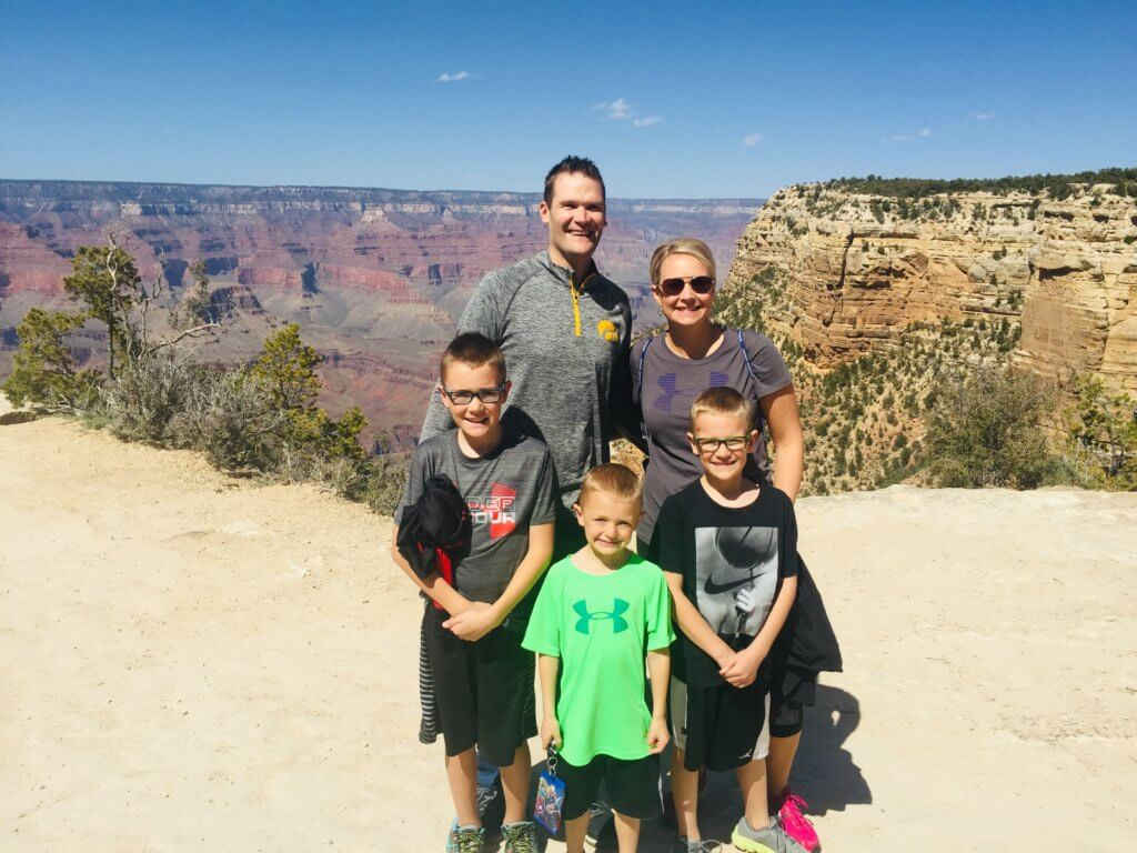 Find out how to work with Top US family travel blog, Travel With a Plan: on the edge of Grand Canyon