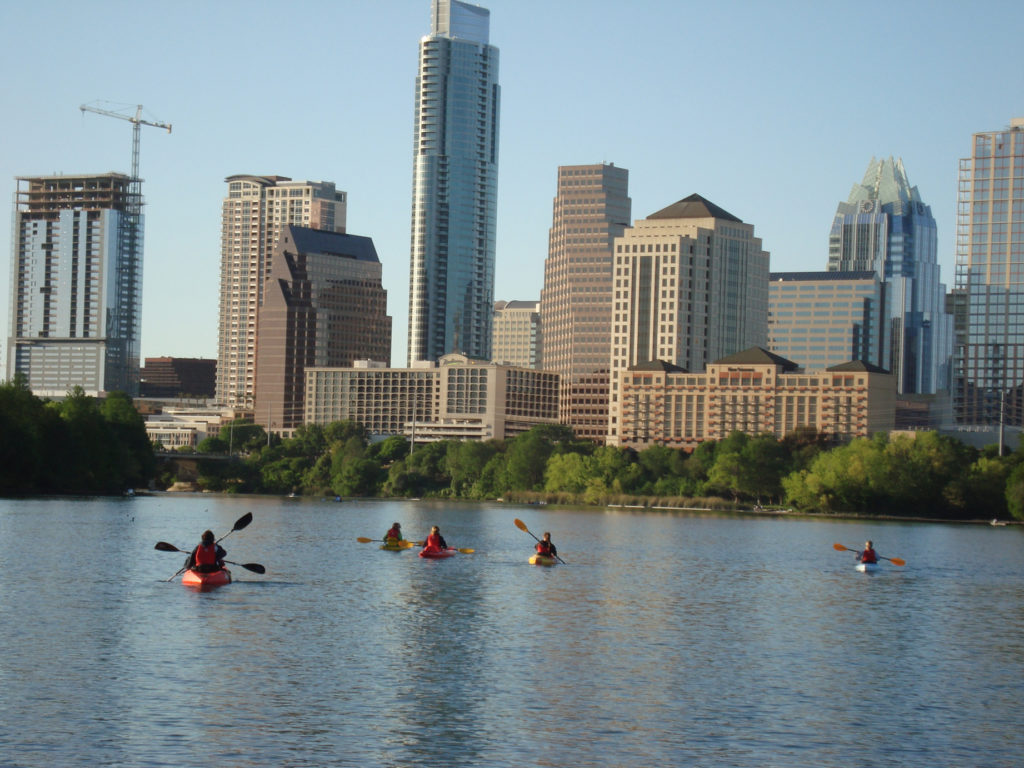 Top US Travel Blog highlights a girls weekend in Austin YX featuring the great outdoors