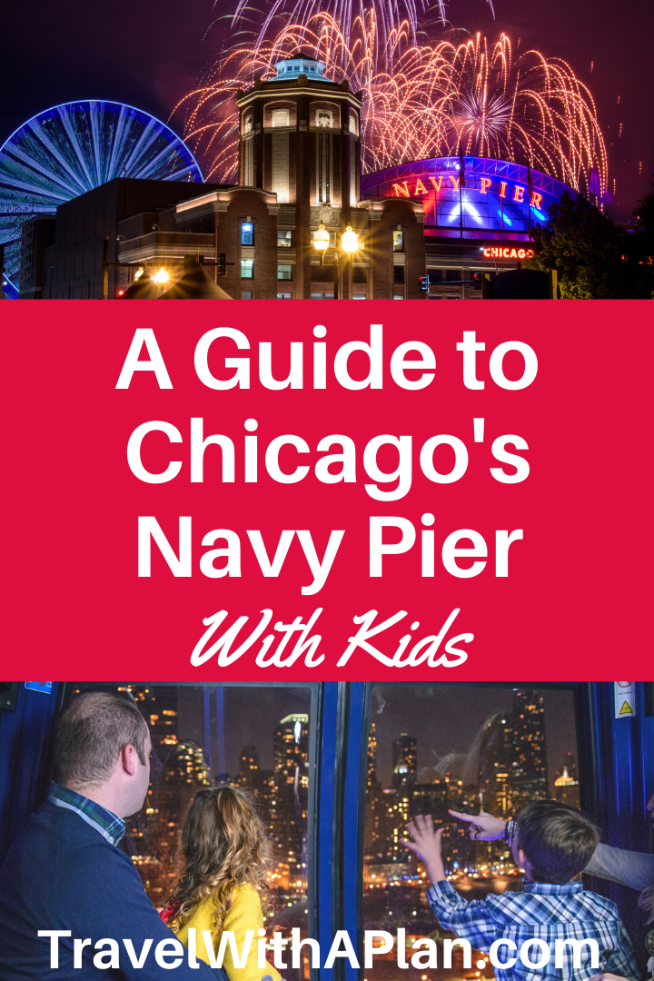 Click here to discover the best things to do at Navy Pier Chicago with kids!  Top U.S. family travel blog, Travel with A Plan shares the details on everything there is to do at Navy Pier Chicago with kids, as well as which are the best!  #bestthingstodoinChicago #thingstodoinChicagowithkids #thingstodowithchildreninchicago #topthingstodoinchicagowithkids #thingstodoatnavypier #bestthingstodoatnavypier #chicagotravelblog