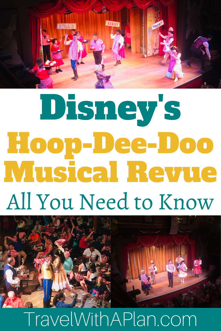 Click here to discover a complete Hoop Dee Doo Revue review from Top U.S. family travel blog, Travel With A Plan!  #HoopDeeDoomenu #HoopDeeDooseatingchart #HoopDeeDooRevueseatingchart #howlongisHoopDeeDoo #HoopDeeDooreservations #HoopDeeDoomusicalrevue #HoopDeeDooRevue #HoopDeeDooRevuemenuvegetarian #HoopDeeDoomusicalrevuereviews #HoopDeeDooRevueReview