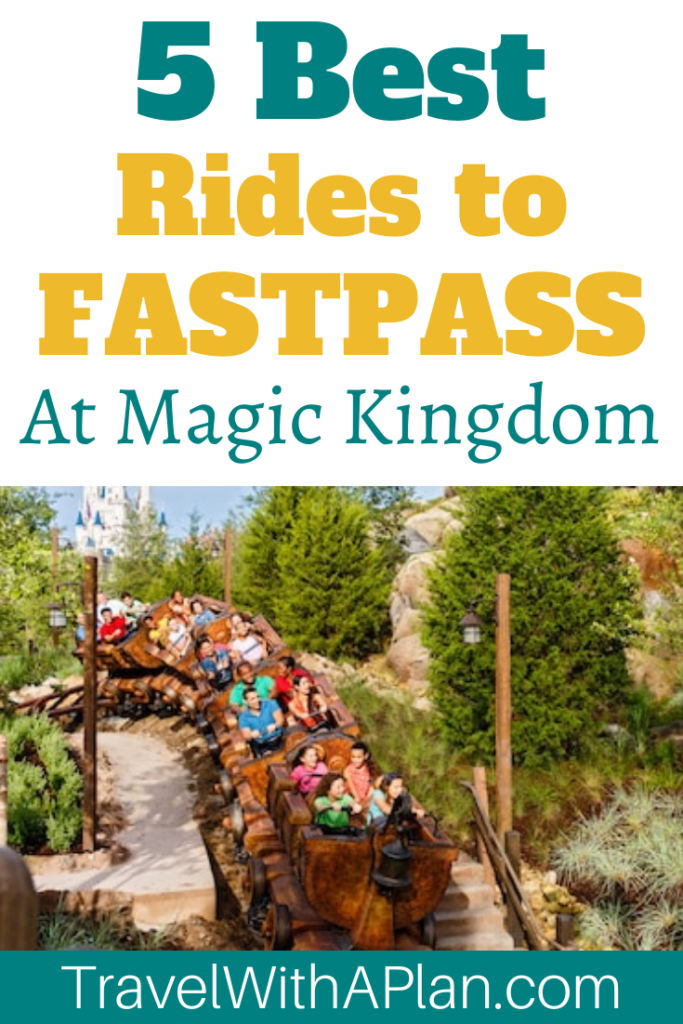 Click here to discover the top 5 best rides to Fastpass at Magic Kingdom from Top U.S. family travel blog, Travel With A Plan!  Skip waiting in lines for these most popular Magic Kingdom Fastpass picks!  #bestridestofastpassatmagickingdom #bestfastpassesformagickingdom #bestridesatmagickingdom #bestridestousefastpassatmagickingdom #magickingdombestfastpasses #fastpassmagickingdom #bestfastpassmagickingdom #fastpassesmagickingdom #bestridesatmagickingdom