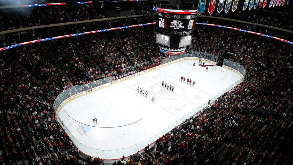 Excel Energy Center on the Minnesota Bucket List from Top U.S. family travel blog, Travel With A Plan!