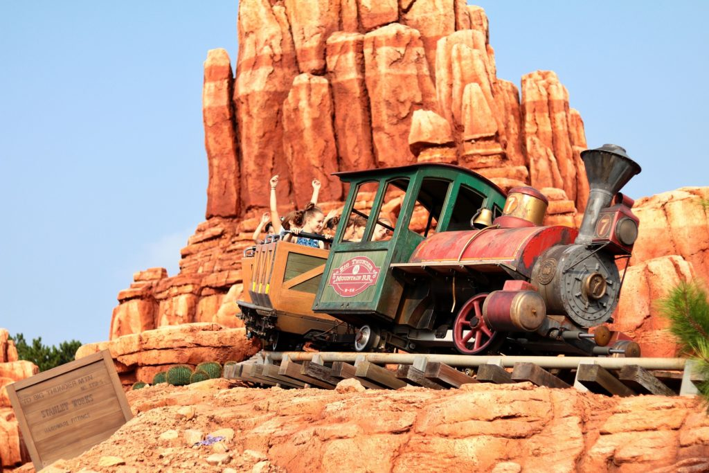 Big Thunder Mountain; Magic Kingdom wait time