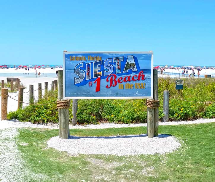 Top U.S. family travel blog, Travel With A Plan, features their full 6-day itinerary for the perfect Siesta Key Family Vacation!