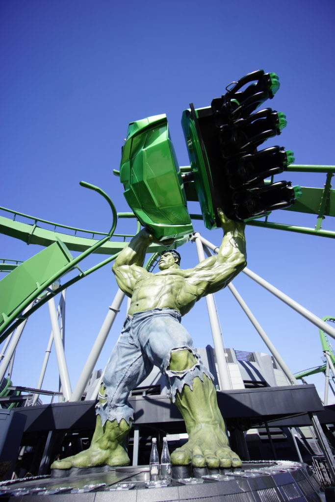 Top U.S. Family Travel Blog, Travel With A Plan, outlines the Top 7 Best Rides at Islands of Adventure with Hulk being #2!