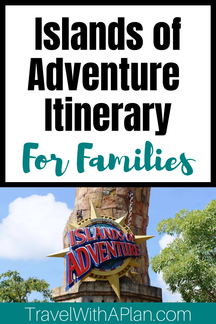 Universal's Islands of Adventure has been rated the #1 theme park in the world for good reason!  Read here for a complete Islands of Adventure touring plan to experience the best rides at Islands of Adventure and a perfect day in the park!  #islandsofadventureorlando #islandsofadventureorlandotips #islandsofadventureitinerary #islandsofadventureorlandoitinerary #universalislandsofadventuretips #tipsforislandsofadventure #universalstudiosislandsofadventuretips