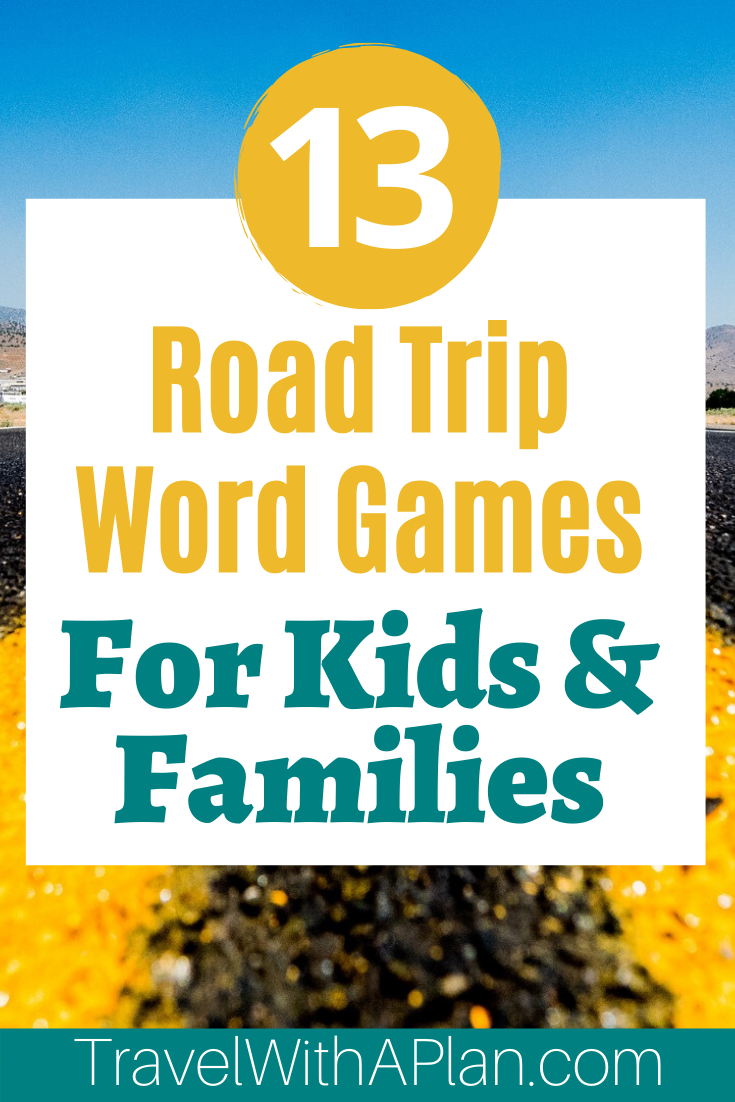 Get the list and directions for our favorite Road Trip Word Games to play in the car!  These road trip games ensure plenty of family involvement and lots of laughter!  Add some fun to your next family road trip!  #roadtripwordgames #bestroadtripgames #roadtripactivities #familytravel #familyroadtriptips