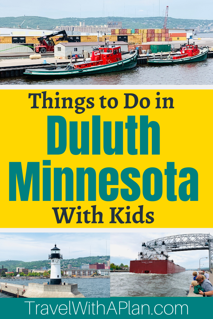 Discover the best Free Things to do in Duluth, MN from Top U.S. family travel blog Travel With A Plan!  Duluth Family Vacation | Free Things to do in Duluth | Duluth Itinerary | Best Things to do in Duluth With Kids #familytravel #freethingstodoinduluth #thingstodoinDuluthMN