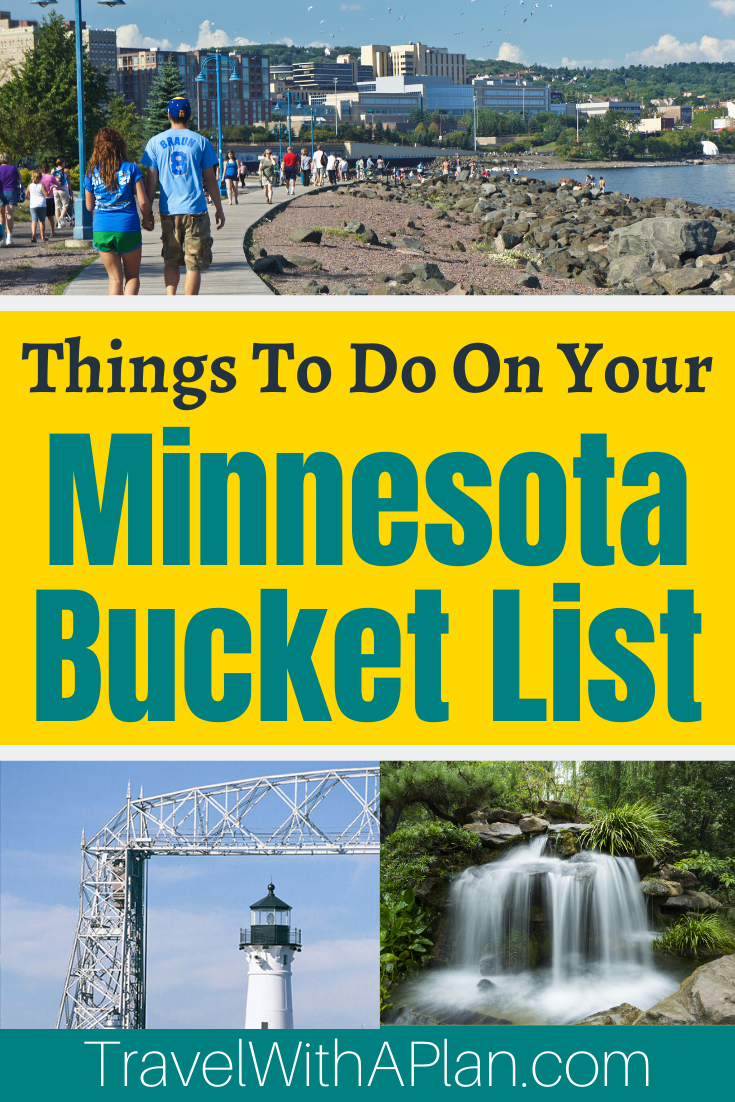 Find out the best things to do in Minnesota from top U.S. family travel blog, Travel With A Plan!  The 13 must-see places in Minnesota are sure to delight you!  Minnesota Travel | Midwest Travel | Minnesota Family Vacations | Things to do in Minnesota #MNbucketlist #bestplacestogoinMinnesota #Summervacationideas #familytravel