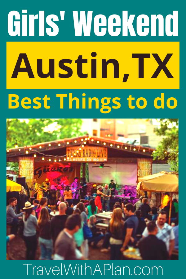 Find out the best things to do on an Austin, Texas Girls Weekend Getaway, plus, get our detailed 3-day Austin itinerary!  You can't go wrong with this mixtures of the best things to do in Austin in 3 days!  Austin, TX   Texas Travel   Girls Weekend Getaway   Best Girls Trips   Girls Trip Ideas   Austin Live Music   Austin Murals #austingirlstrip #thingstodoinAustin #whatodoinAustin