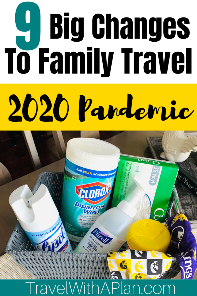 Find out 9 ways to prepare for family travel during the pandemic!  These important family travel tips will help you prepare for the changes and make the necessary adjustments ahead of time!  Family Travel | Family Travel Tips | Social Distant Travel | Health Travel Tips | Ways to Stay Healthy While Traveling | Travel With A Plan #bestfamilytraveltips #tipsfortravelingwithkids #healthtips #safetytips