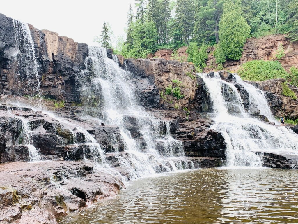 Gooseberry Falls; Duluth family vacation