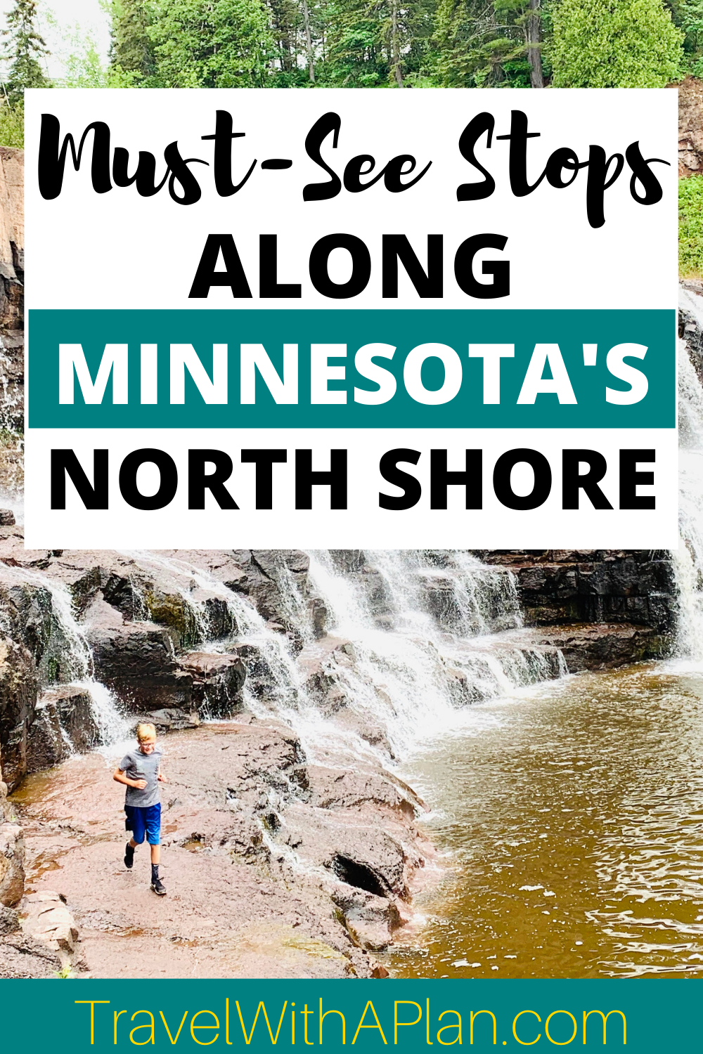 Discover the must-see stops on the Minnesota North Shore Scenic Drive!  From Duluth to Grand Marais, Minnesota these stops will complete your North Shore experience!  Minnesota   North Shore, MN   North Shore waterfalls   North Shore activities   Family travel   MN State Parks #midwesttravel #bestfamilyvacationspots #socialdistanttravel #NorthShoreMN #NorthShoreScenicDrive