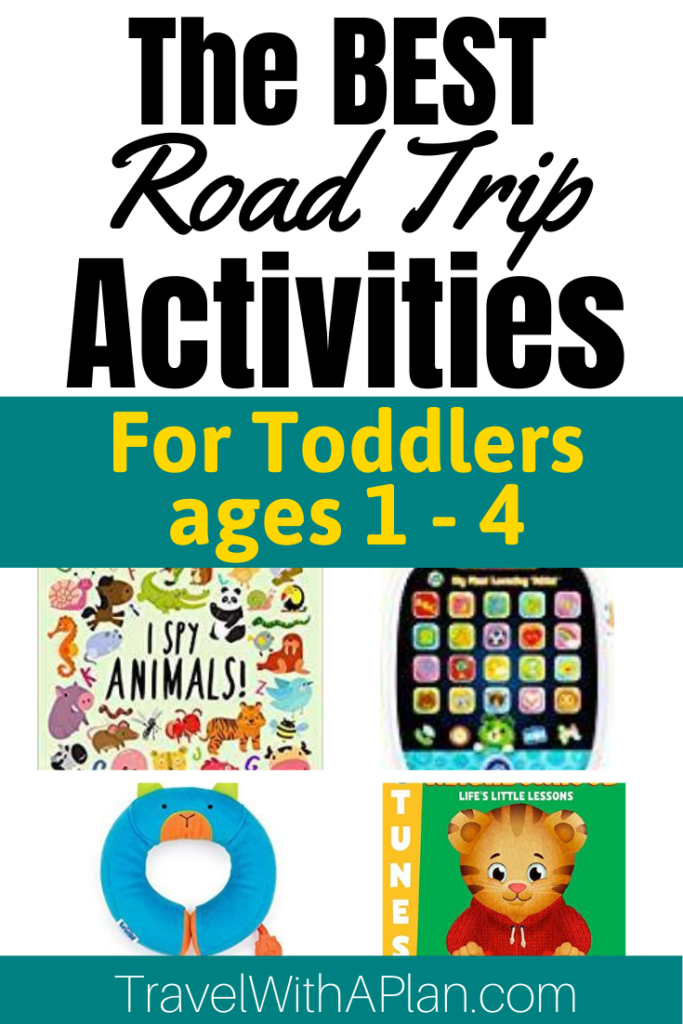 Get our ultimate list of the best Road Trip Activities for Toddlers!  We include ideas for independent play, parents involvement, quiet time, and much more!  These ideas will leave you smiling!  Family Road Trip Tips | Road Trip Activities for Kids | Road Trip Activities for Toddlers | Family Travel | Travel With Small Children  #travelwithaplan #roadtripactivities #roadtripactivitiesforpreschoolers #roadtriphacks