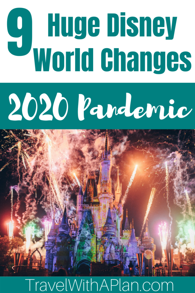 IMPORTANT!  Discover 9 Major Changes in your Disney World Vacation Planning.  After its 4-month closure, Disney implemented many Disney changes that will drastically effect your planning and touring plan.  Click here now!  Family Travel | Disney Vacation | Disney Planning Tips | #disneychanges #disneyreopening #whatsnewatdisney #disneyworldtips