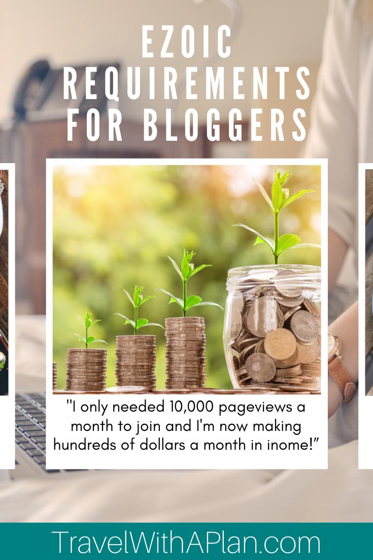 Ezoic requirements:  Increase ad revenue 50-250% with Ezoic - Better then adsense #mediavine #adsense #ezoic #monumetric #medianet #adnetworks #blogger #bloggers #bloggerstyle #bloggerlife #bloggerfashion #bloggergirl #bloggermom #bloggermama #bloggermum #bloggerevent