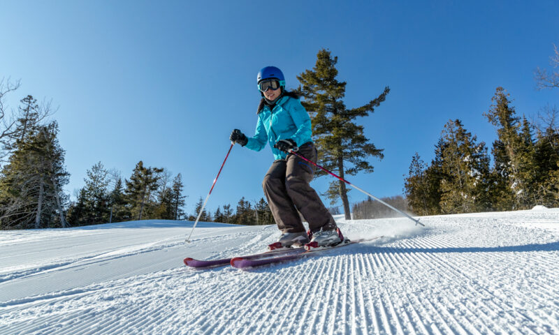 Skiing in Minnesota