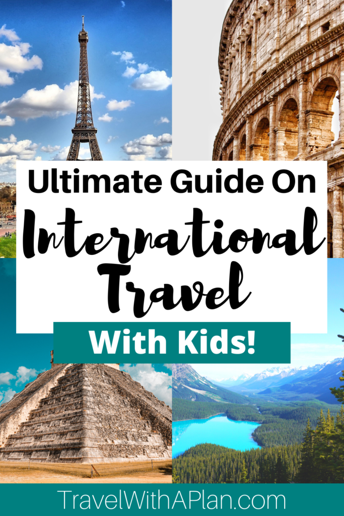 When it comes to international travel with kids, there are a ton of variables to consider!  Documentation, immunizations, safety, airfare, and cultural differences are just a few of the travel considerations that you will face.  Click here to prepare now!  #internationaltravelwithkids #travelinginternationally #childdocumentation #childhoodimmunizations #travelwithkids #tipsfortravelingwithkids