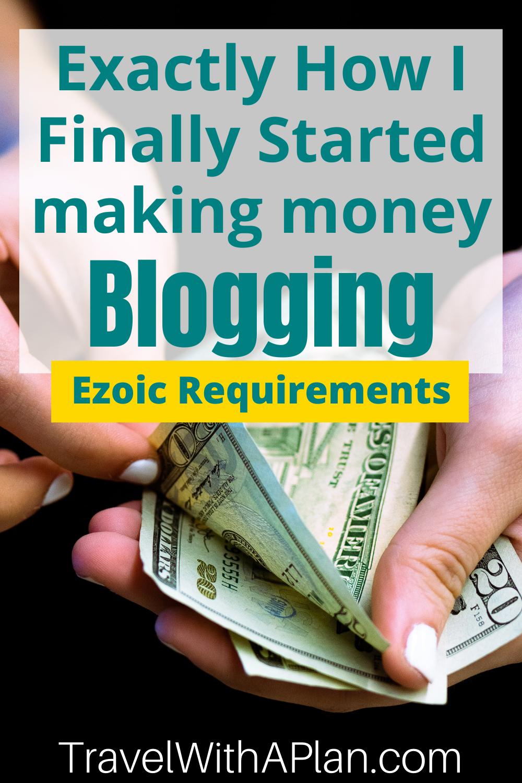 Ezoic requirements:  Increase ad revenue 50-250% with Ezoic - Better then adsense #mediavine #adsense #ezoic #monumetric #medianet #adnetworks #blogger #bloggers #bloggerstyle #bloggerlife #beginnerblogger #bloggingtips