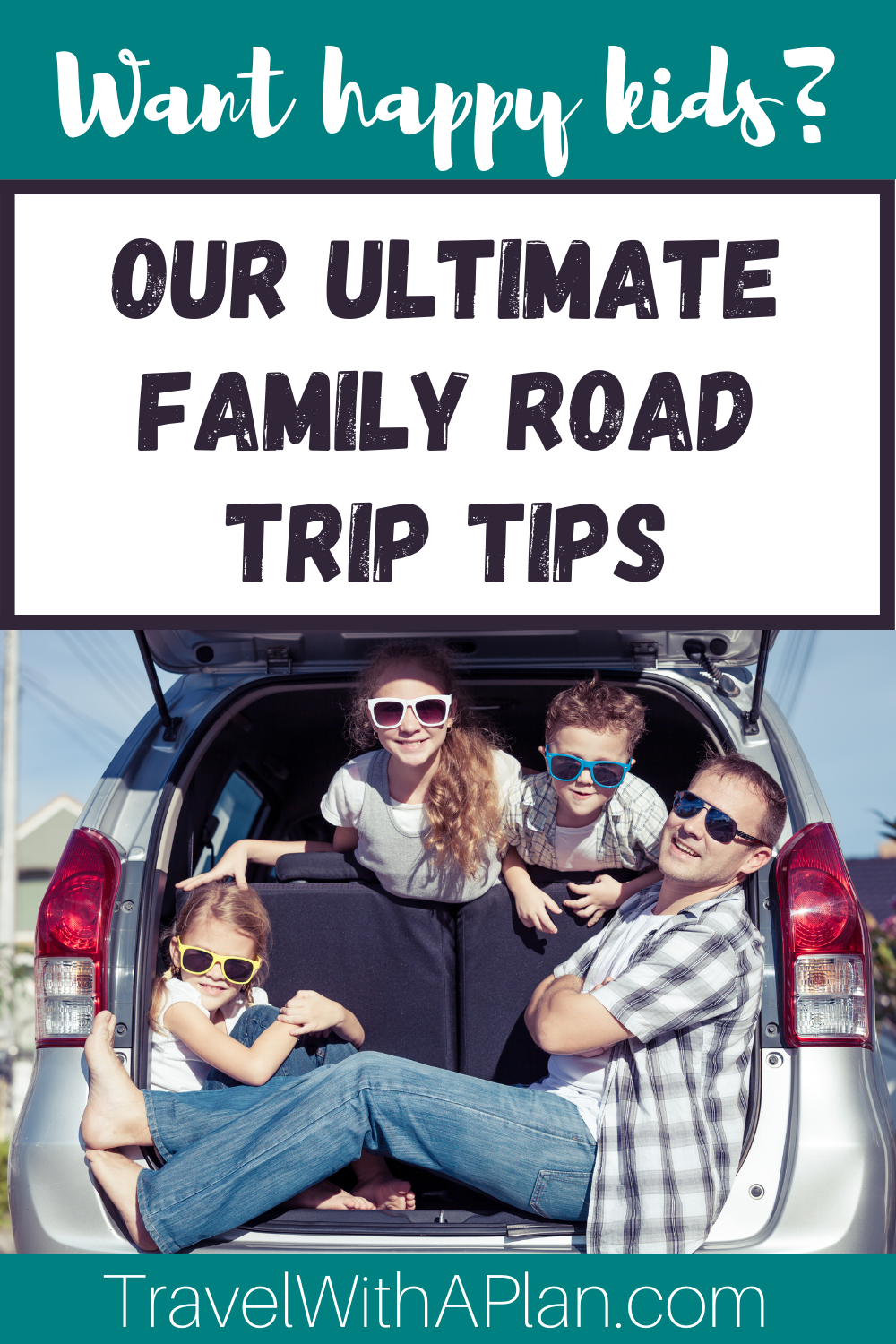 The Best Tips on Planning a Family Road Trip from Top U.S. family travel blog, Travel With A Plan!
