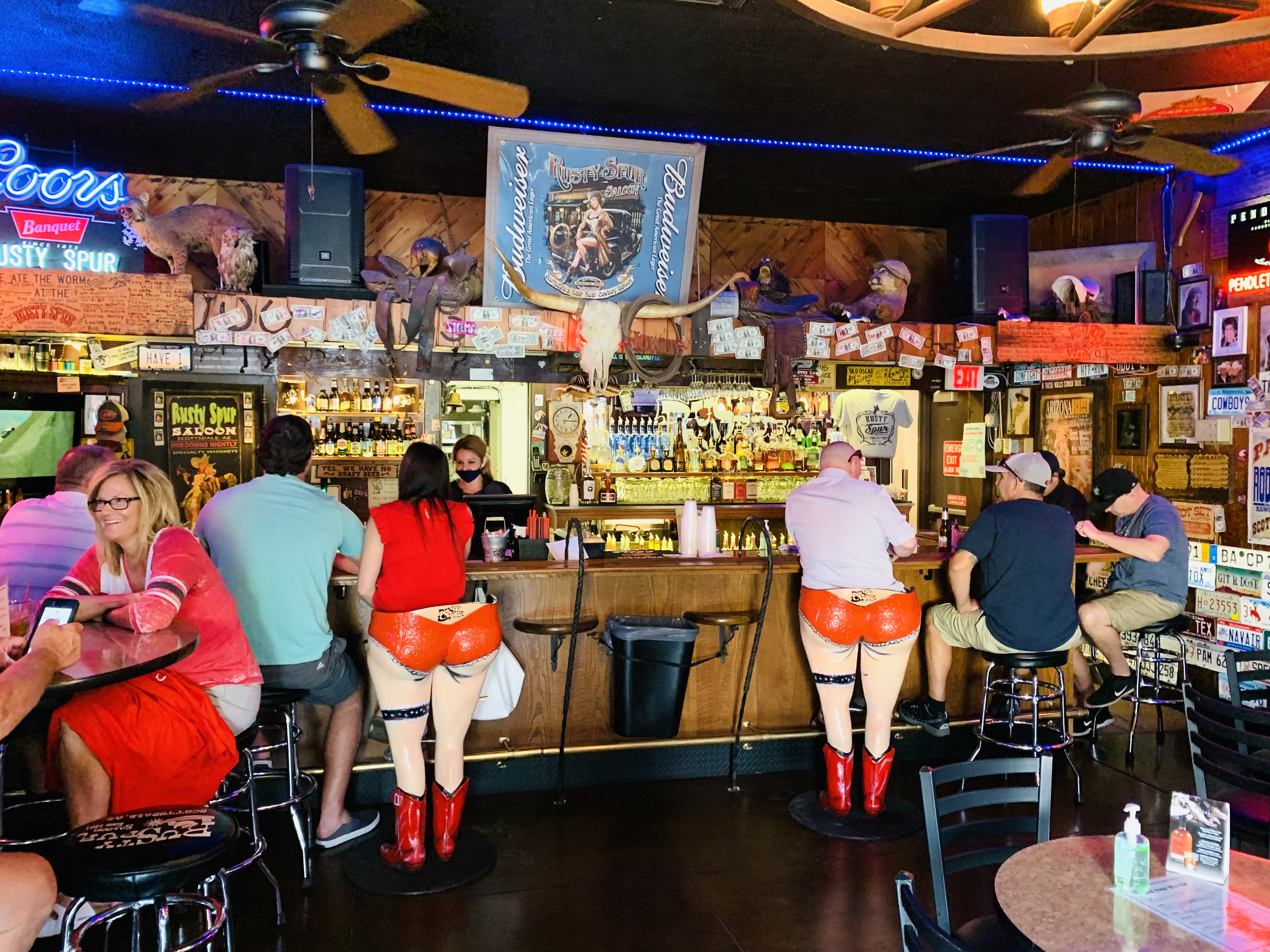 Rusty Spur Saloon:  Best things to do in Old Town Scottsdale from Top U.S. travel blog, Travel With A Plan #scottsdale #arizona #oldtown