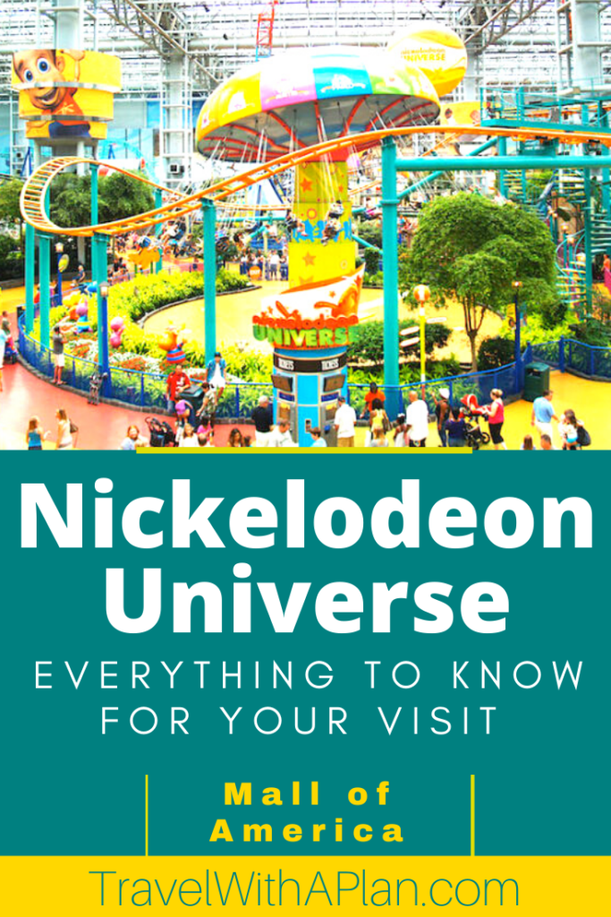 Head to Nickelodeon Universe for some amazing indoor fun!  Located inside of the Mall of America in Bloomington, Minnesota, this theme park is off-the charts fun for adults, kids, and teens!  Discover what to expect by clicking here.  #Nickelodeonuniverse #mallofamerica #bloomington #minnesota #familytravel #indoorthemeparks #thingstodowithkids #thingstodothiswinter #mallofamericaitinerary