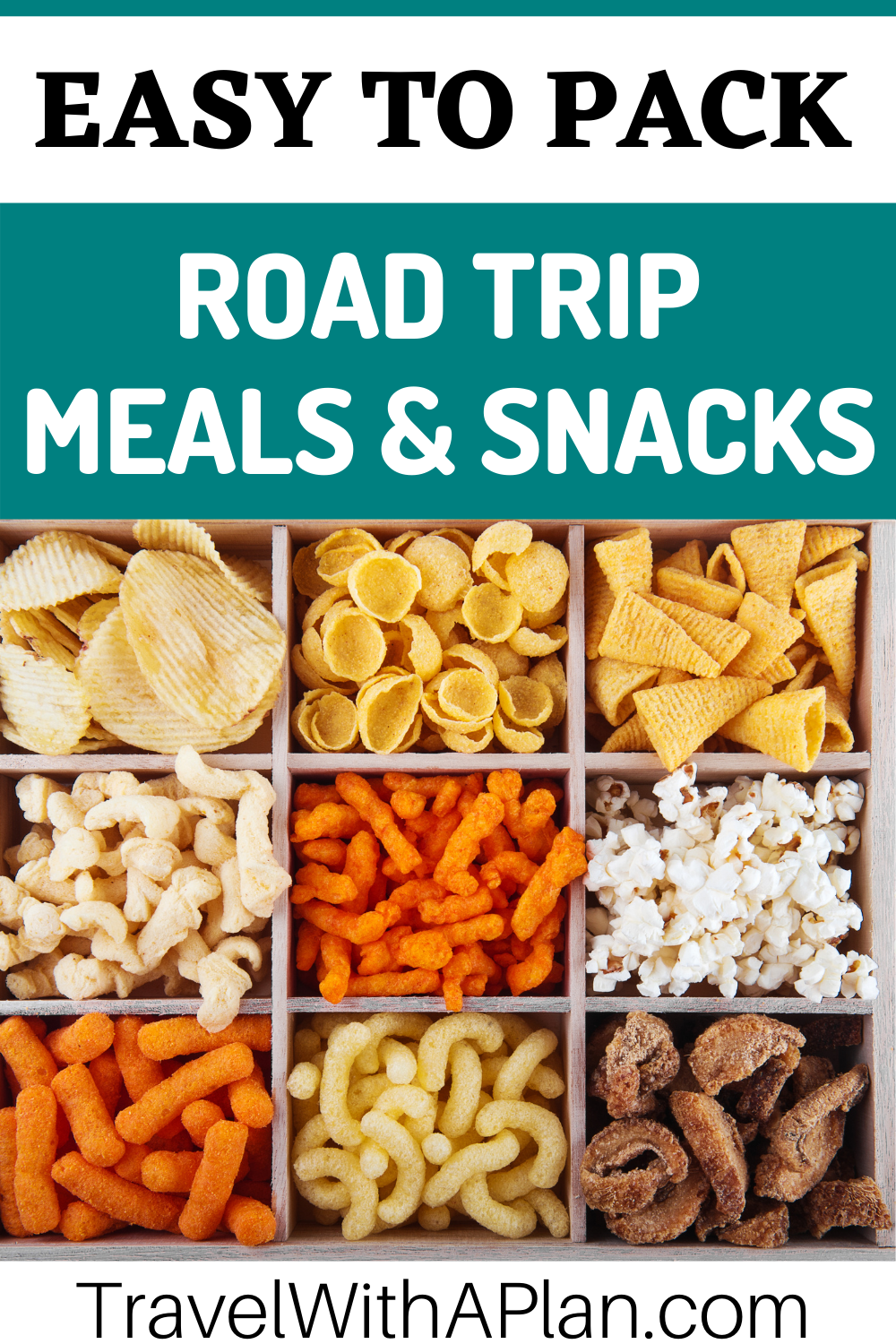 The best Road Trip Food List from Top U.S. family travel blog, Travel With A Plan!