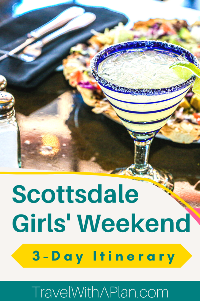 Click here to find out the absolute best things to do on a Scottsdale Girls Trip!  Our list of Scottsdale attractions and things to do in Old Town fit perfectly into our FREE 3-day itinerary that can be found right here!  #Scottsdale #OldTownScottsdale #Arizona #GirlsWeekendGetaways #GirlsTrip #Southwestvacations #thingstodoinArizona #bestmargaritas #familytravel