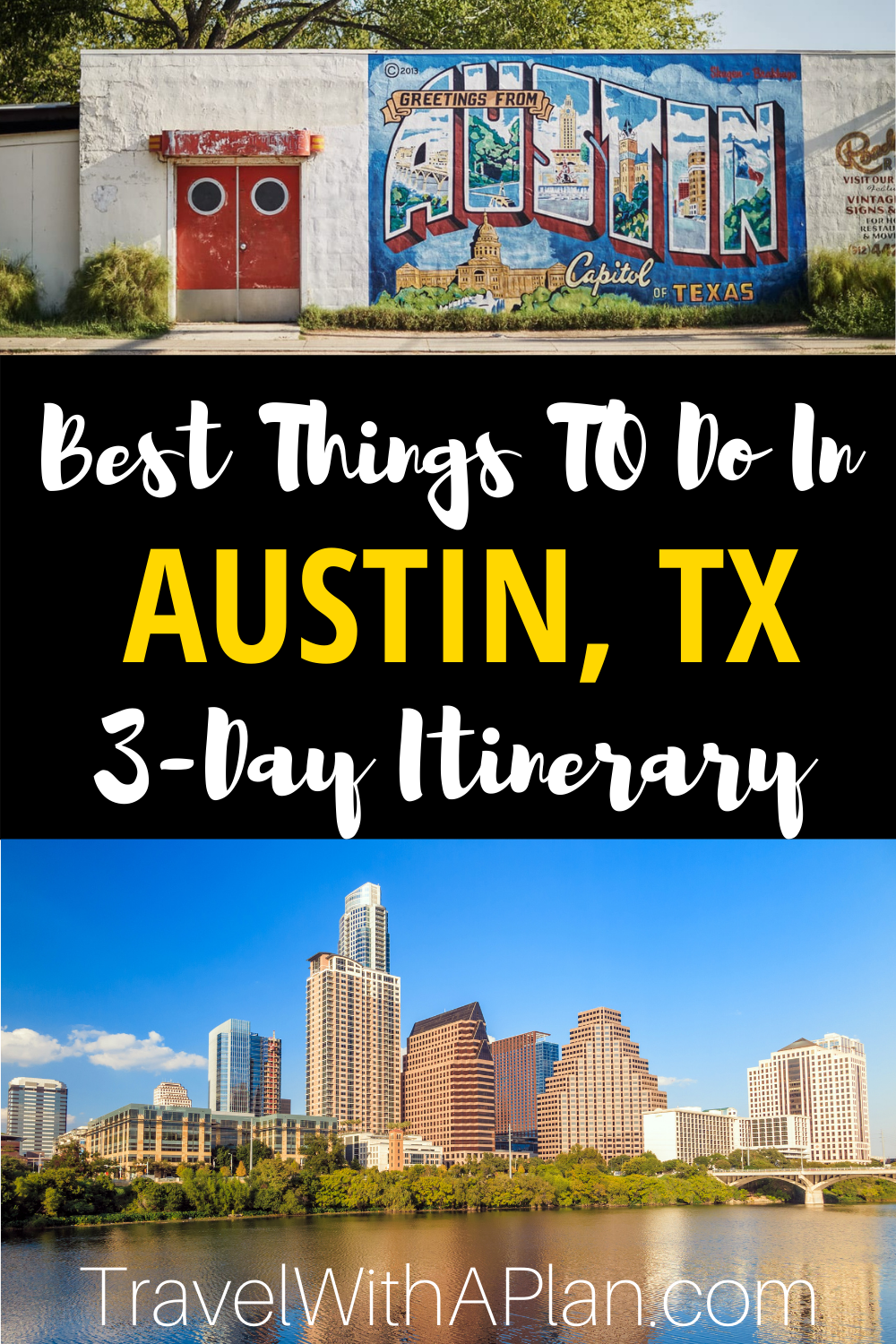 Check out what to do on an Austin Girls Weekend from Top US family travel blog, Travel With A Plan!