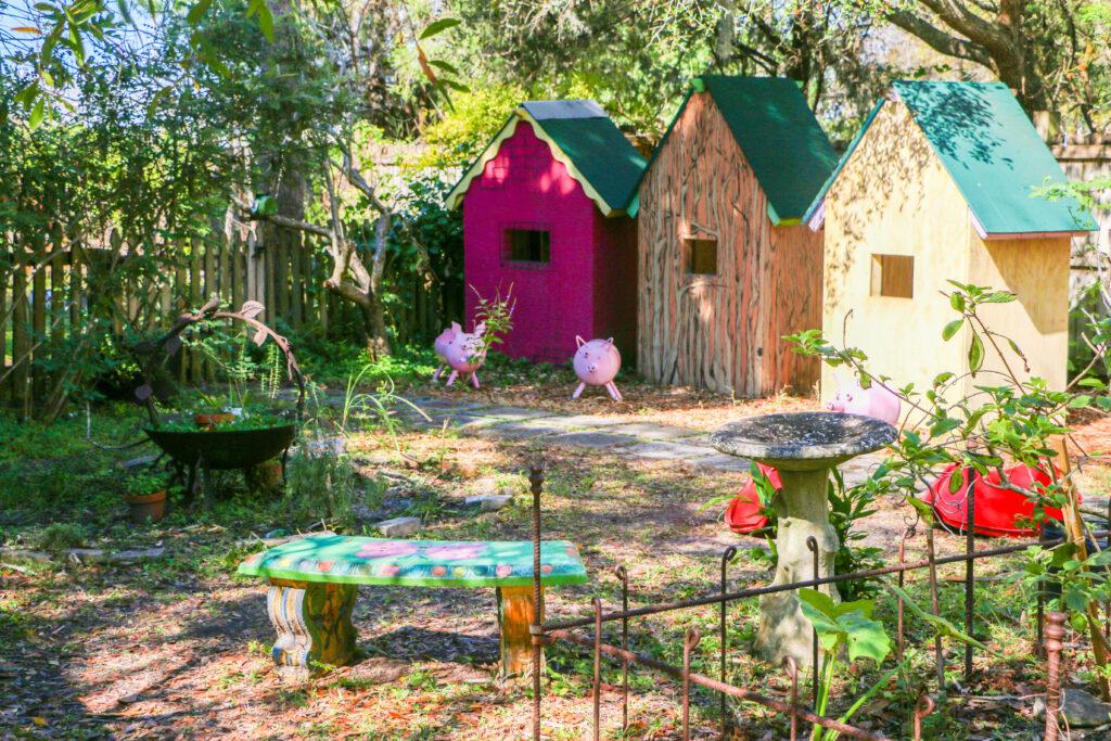 Sarasota Children's garden secret houses