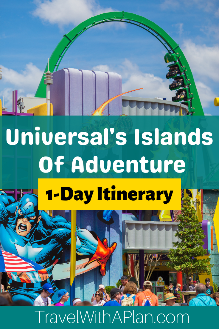 Click here for the best Islands of Adventure Touring Plan from Top US Family Travel Blog, Travel With A Plan!