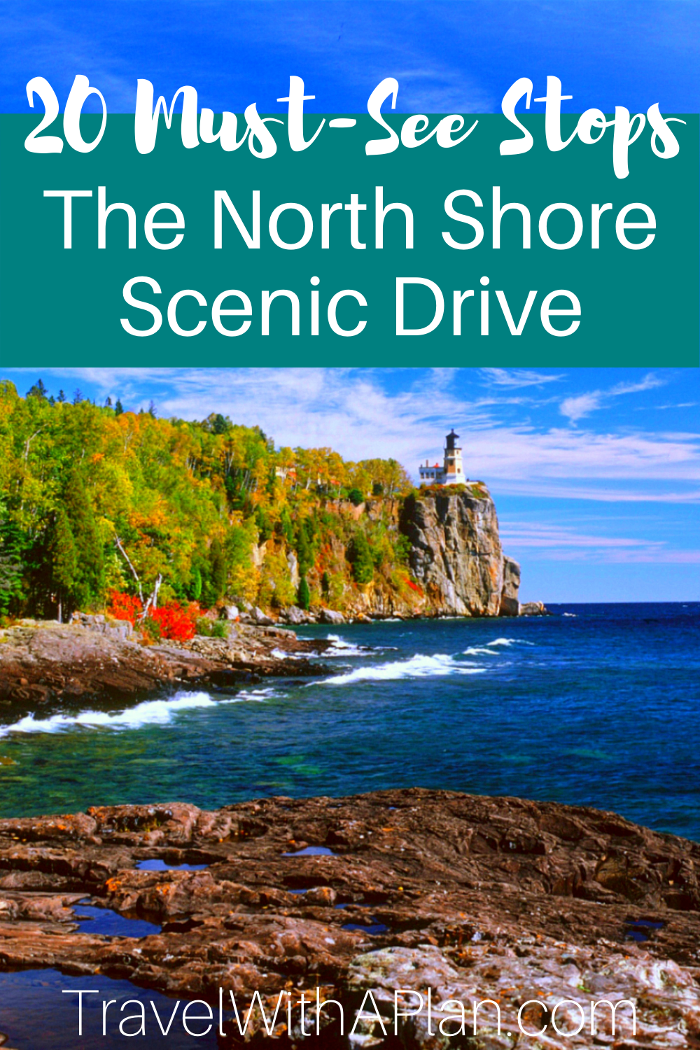 Minnesota North Shore Scenic Drive Must-See Stops from Top U.S. family travel blog, Travel With A Plan.