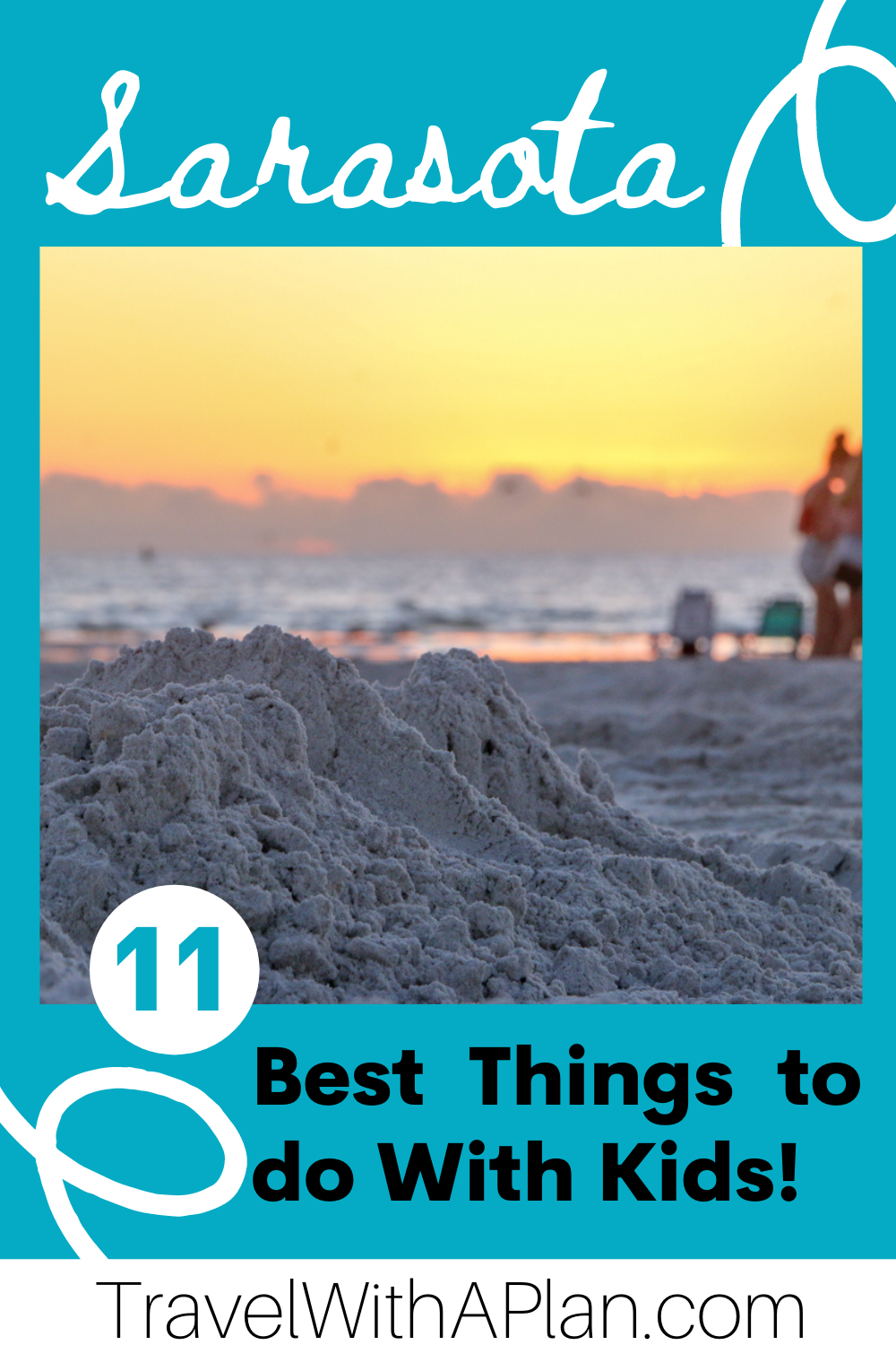 Find out the best things to do in Sarasota with kids from Top US family travel blog, Travel With A Plan! #Sarasota #LidoBeach #familytravel