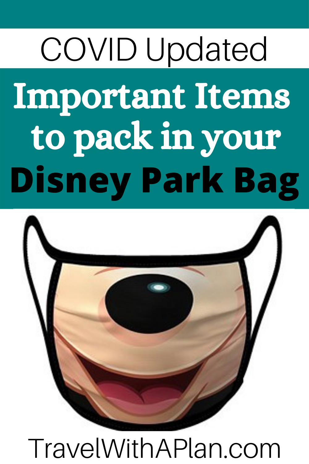 Click here for the Disney World essentials you won't want to forget in your Disney park bag from top US family travel blog, Travel With A Plan!