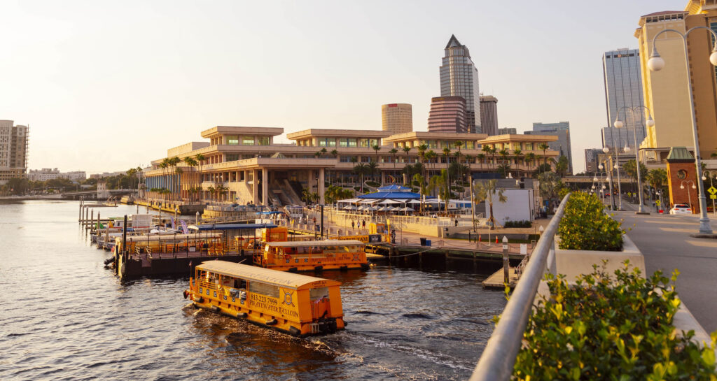 Pirate Water Taxis (Fun things to do in Tampa!)