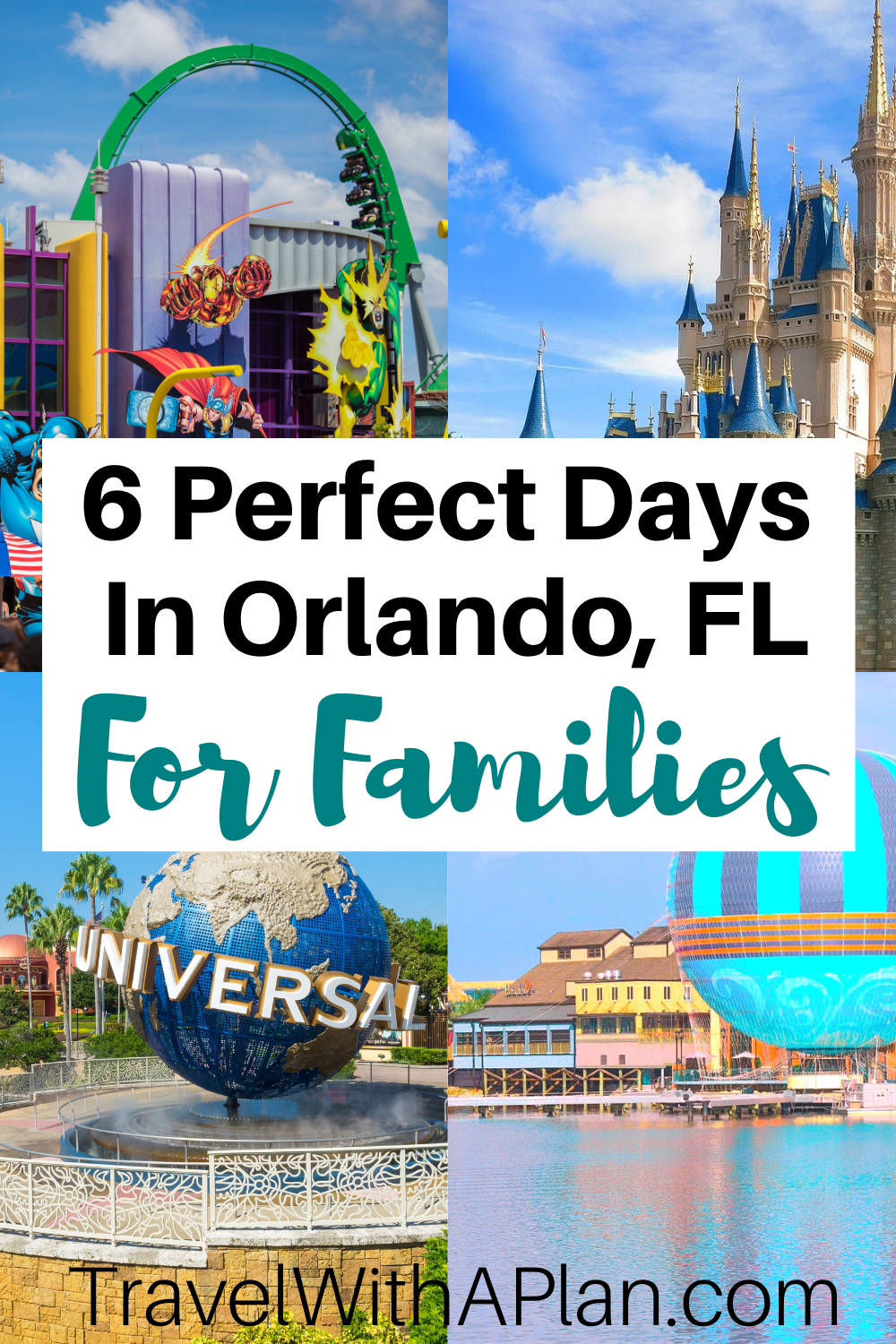 The Ultimate 6-Day Orlando Itinerary | Travel With A Plan