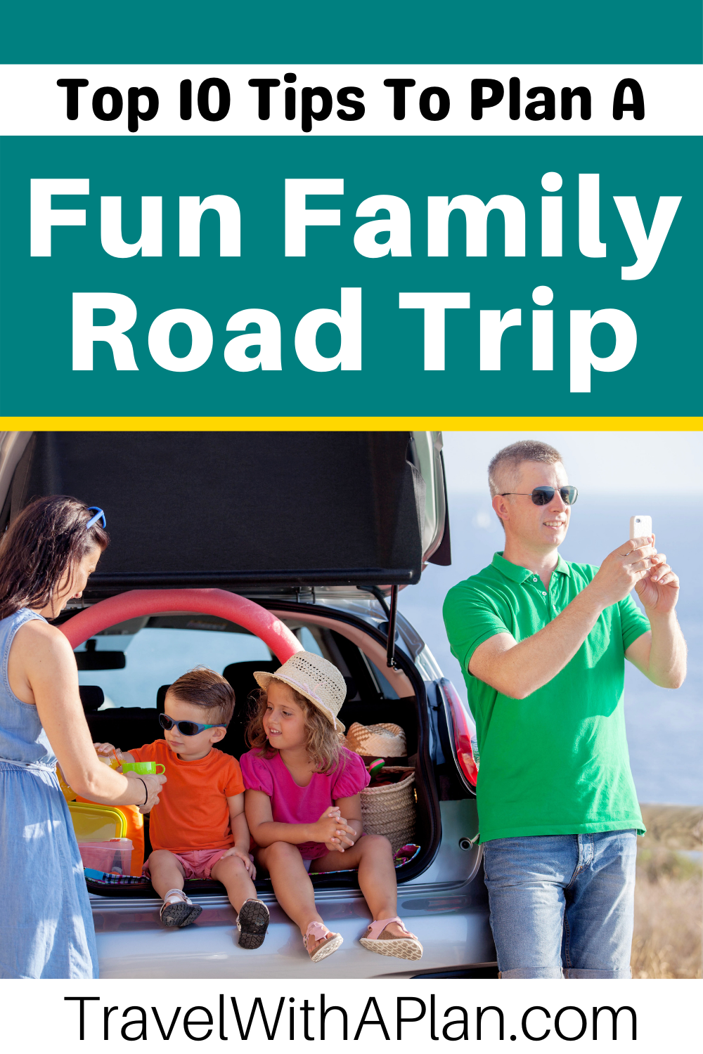 Click here for the top 10 professional tips for planning a family road trip from Top US Family Travel Blog, Travel With A Plan!  #roadtrip #familytravel