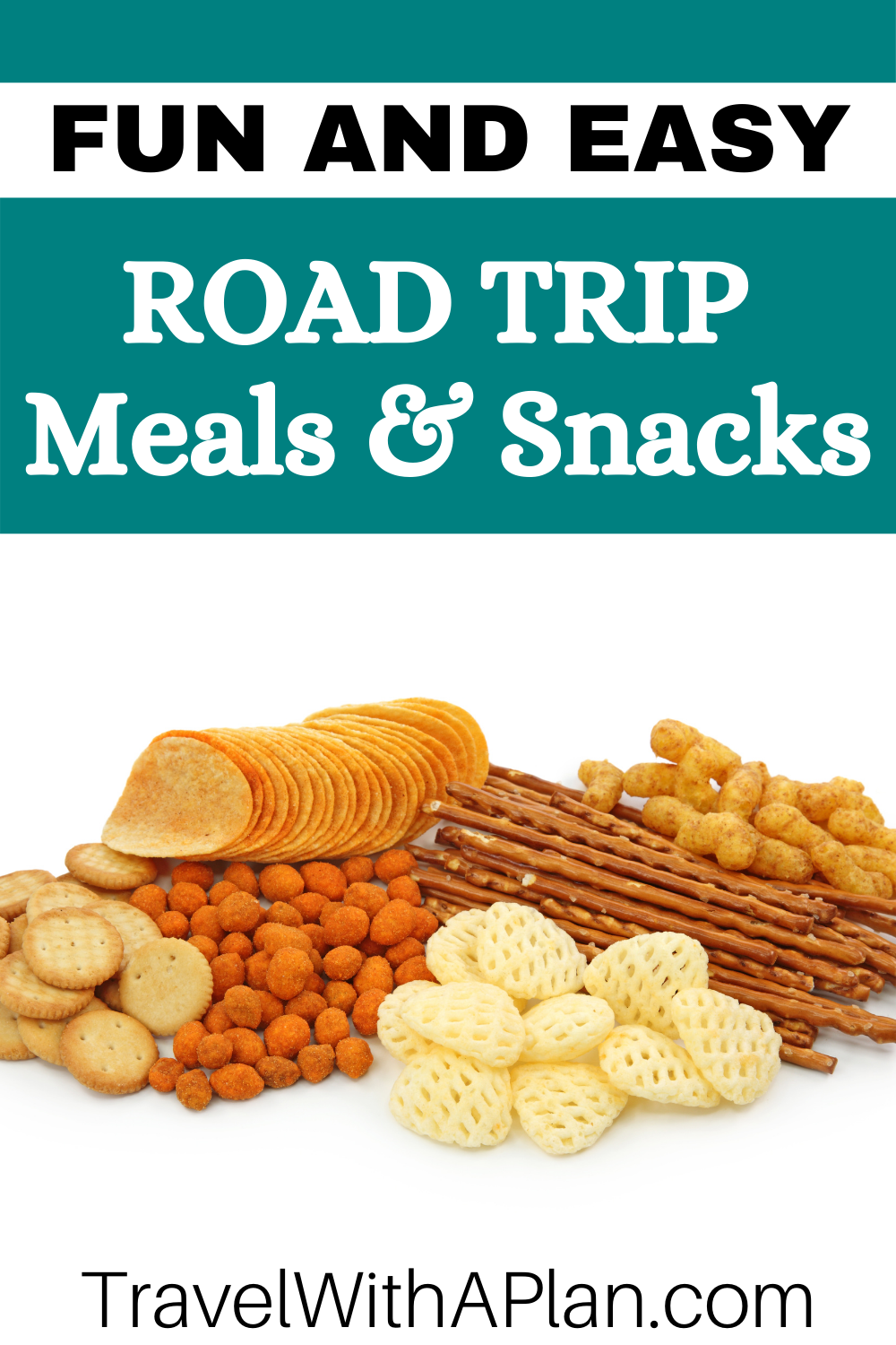 Click here for the ultimate list of fun and easy meals and snacks to pack for a long-haul road trip!  Our road trip food list will help keep everyone satisfied and fed while on the road!  #roadtrip #familytraveltips #roadtripsnacks #familytravel #roadtripfood