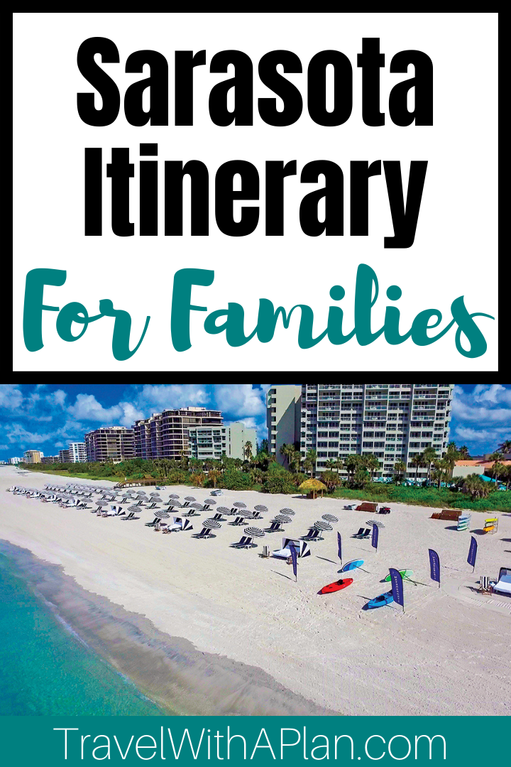 Click here to discover the ultimate Sarasota vacation itinerary for spending up to 6 days in Sarasota, Florida!  #Sarasota #Florida #familytravel #bestfamilyvacations